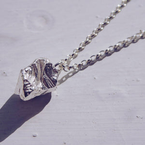Small Meteorite Necklace