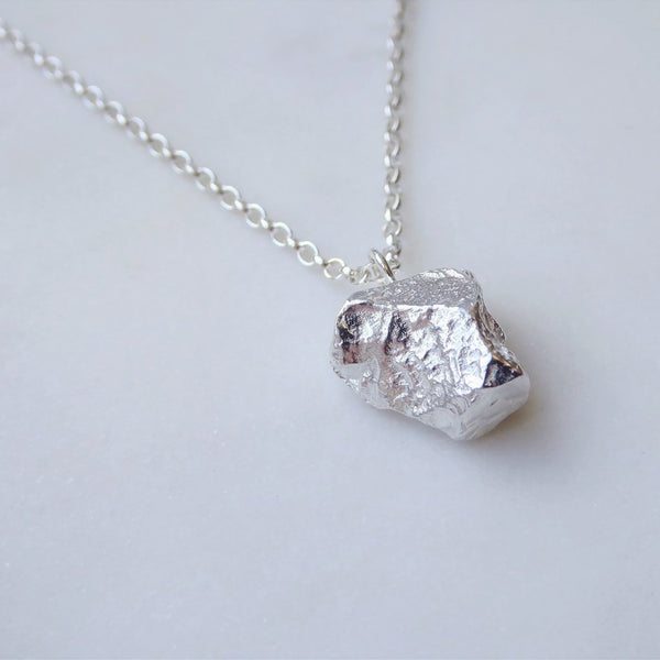 Large Meteorite Necklace