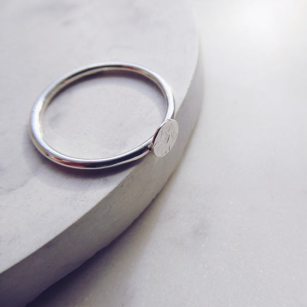 Mini Full Moon Ring