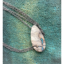 Load image into Gallery viewer, Buckeye and Turquoise - Small Teardrop