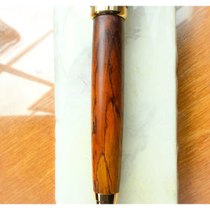 Pen - Designer Ballpoint Twist 24K with Cocobolo Wood