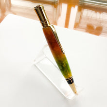 Load image into Gallery viewer, Pen - Executive Twist Gold Ballpoint with Orange-Yellow-Green