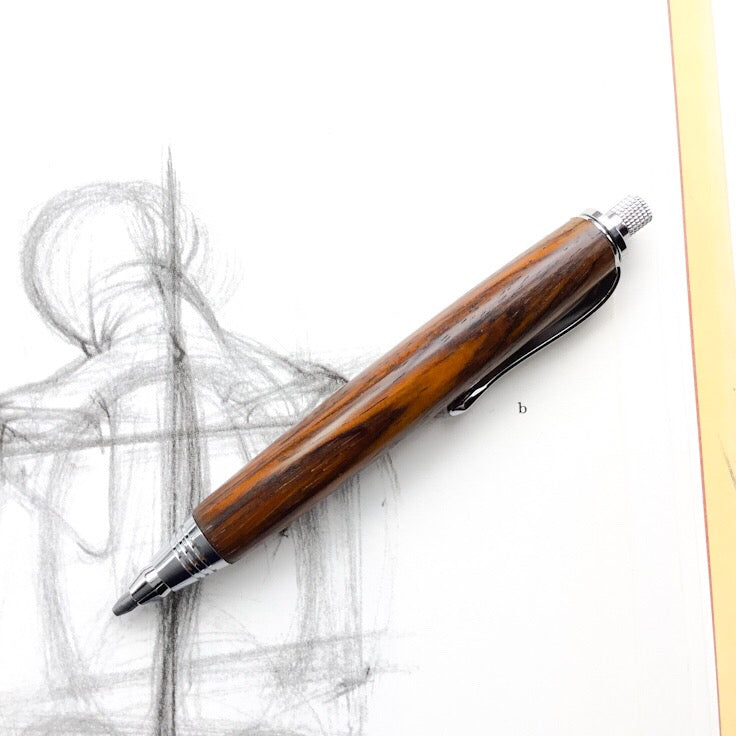 Pencil - Mini Sketch Chrome with Cocobolo Wood