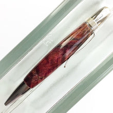 Load image into Gallery viewer, Pen - Atlas Twist Ballpoint - Dark Red Lace Maple