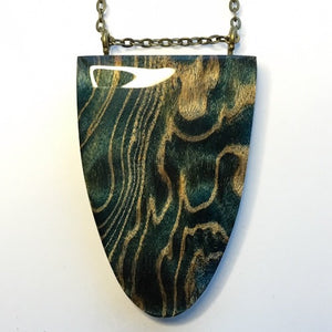 Waves - Shield Pendant