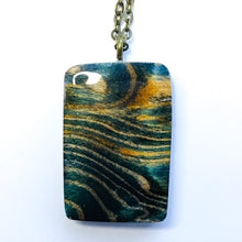 Load image into Gallery viewer, Waves - Rectangle Pendant [2]