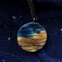 Load image into Gallery viewer, Waves - Circle Pendant