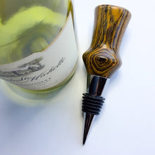 Load image into Gallery viewer, Bottle Stopper - Exotic Wood