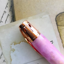 Load image into Gallery viewer, Pen - Aromatherapy - Rose Gold and Pink and Orange Hues