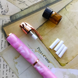 Pen - Aromatherapy - Rose Gold and Pink and Orange Hues