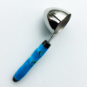 Coffee Scoop - 2 TBS Stainless Steel - Blue & Green