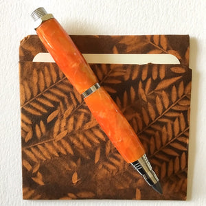 Pencil - Sketch Chrome - Orange Crush