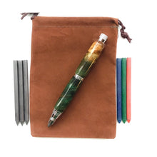 Load image into Gallery viewer, Pencil - Sketch Chrome - Green & Orange Maple Burl