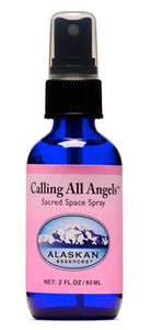 Alaskan Essences - Calling All Angels Sacred Space Spray 2oz