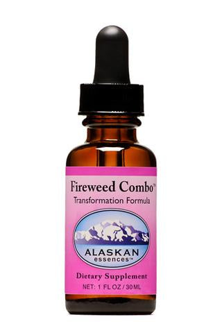 Alaskan Essences - Fireweed Transformation Formula Drops 1 oz.