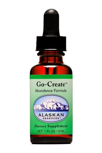 Alaskan Essences - Go-Create Abundance Drops 1 oz.