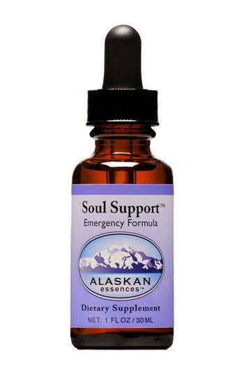 Alaskan Essences - Soul Support Emergency Formula Drops 1 oz.