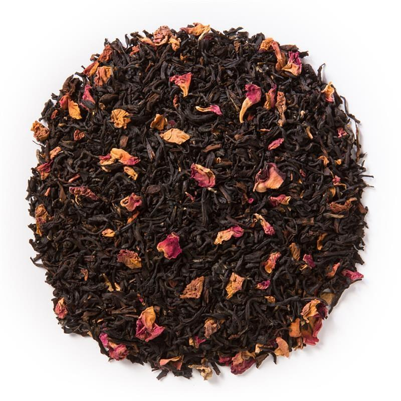 Tea - Sweet Chocolate Rose Puer Loose Tea by INI Sips - 1 oz.