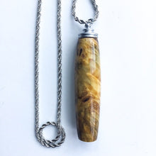 Load image into Gallery viewer, Handle: Necklace with Magnetic Hook - Buckeye Burl