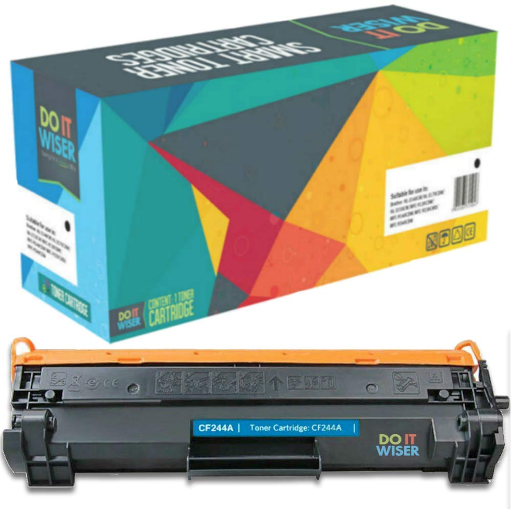 Compatible HP CF44A Cartucho de Toner Negro por Do it Wiser