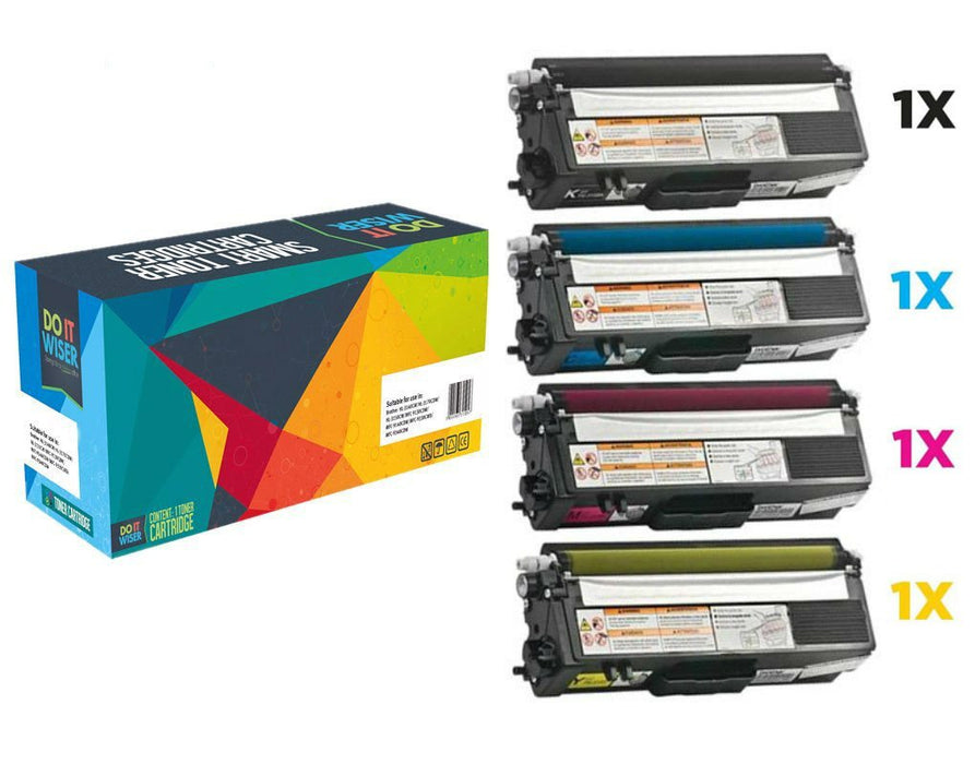 Brother TN 325 Toner Set de Alta Capacidad