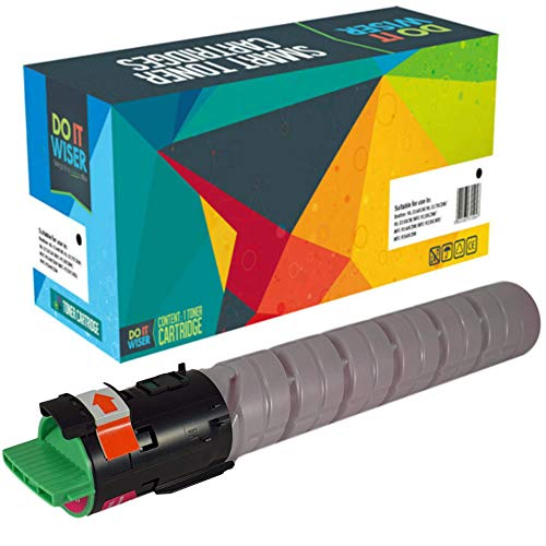 Compatible Ricoh Aficio MP C2051 Cartucho de Toner Negro de Alto Rendimiento por Do it Wiser