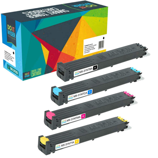 Sharp MX 31GT Toner Set de Alta Capacidad