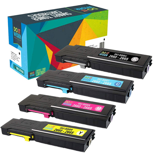Dell C2665 Toner Set de Alta Capacidad