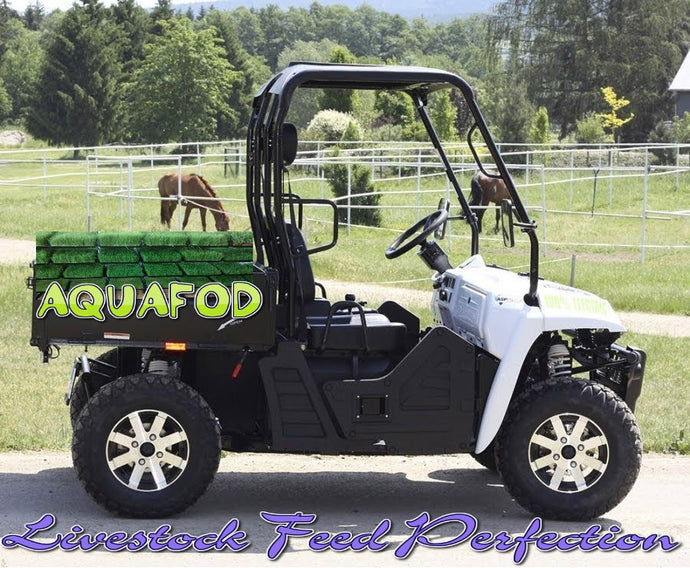 AQUAFOD Electric E5 60 Volt 2x4 Farm Ute - FODDER HARVEST