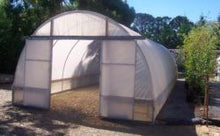 'Aqua Fleur' 4.2m Wide Poly Houses on 600mm Short Walls - Aquaponic Warrior