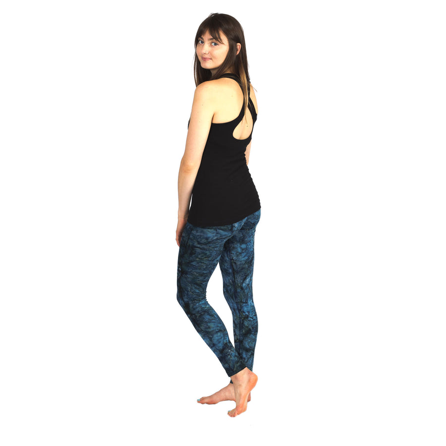 Batik Mermaid Yoga Leggings