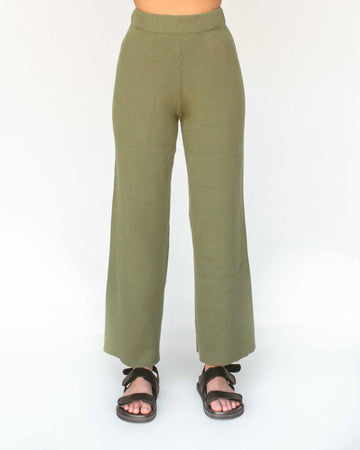 Flora Knit Pants // Fern