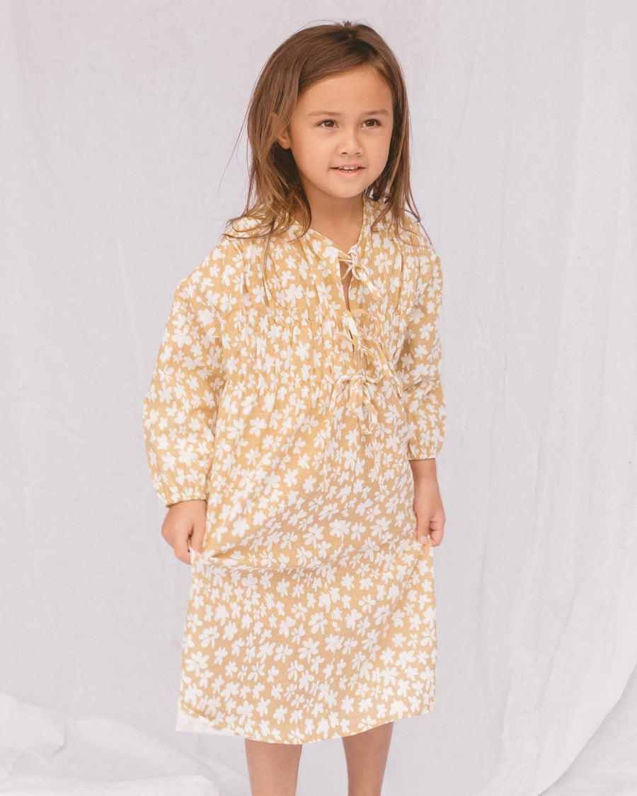 Mini Penny Smock Dress // Caramel Daisies