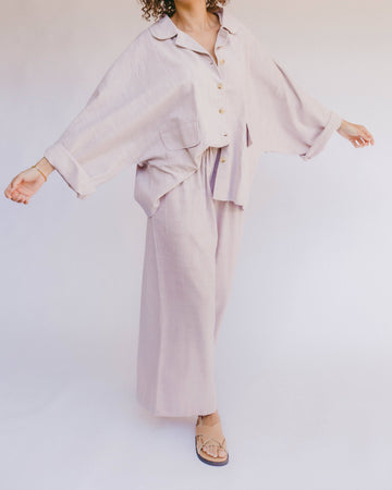 Women's Lounge Pants // Lilac - The Lullaby Club