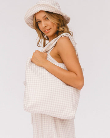 Cherie Bag // Lilac Gingham - The Lullaby Club