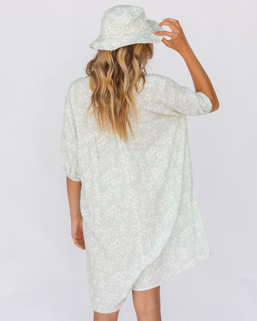 Cody Playsuit // Mint Daisies - The Lullaby Club