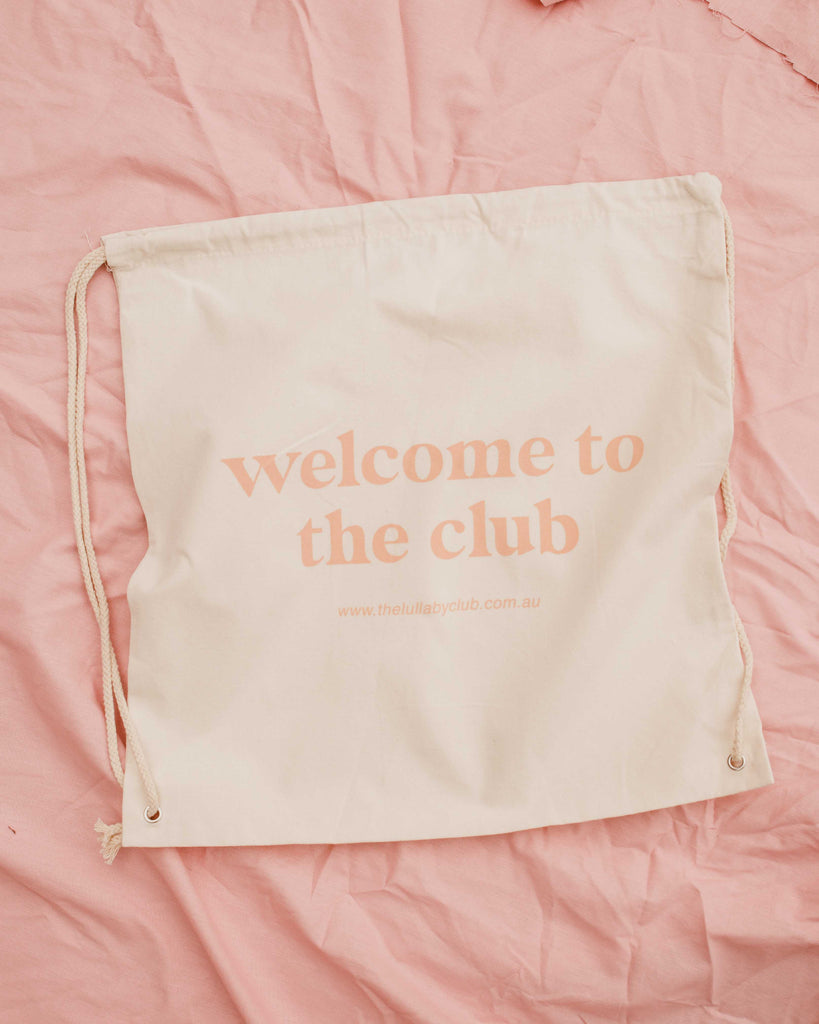 TLC Charity Tote Backpack - The Lullaby Club