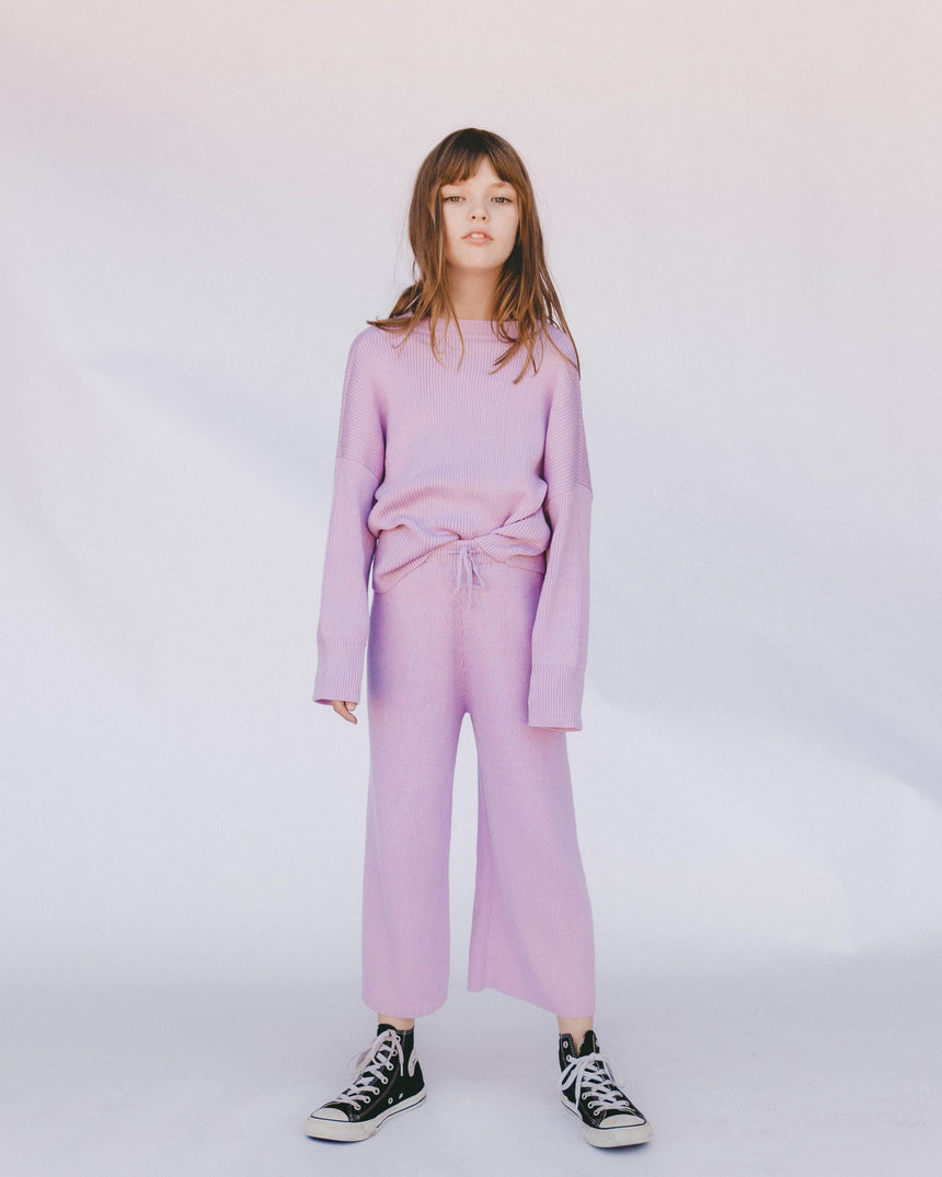 Mini Alex Knit Set // Periwinkle kids The Lullaby Club
