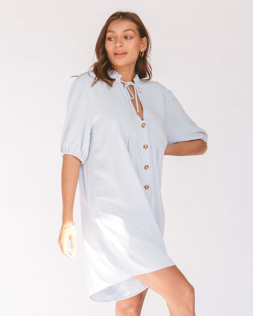 Cody Playsuit // Powder Blue
