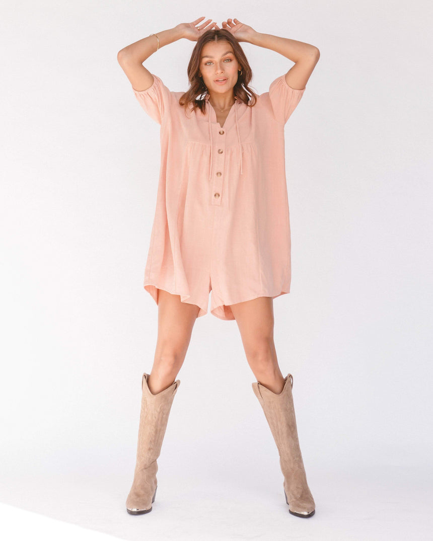Cody Playsuit // Rose - The Lullaby Club