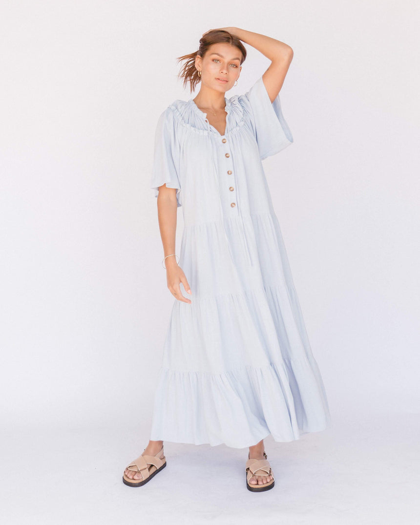 Nikita Maxi Dress // Powder Blue