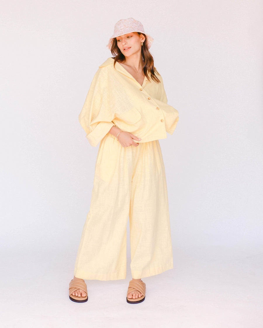 Women's Lounge Pants // Lemon - The Lullaby Club