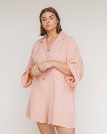 Women's Lounge Playsuit // Rose - The Lullaby Club