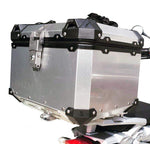 Aluminum  40Lt Top Case BMW F650 GS Twin Motorrad Motorcycle + Rack