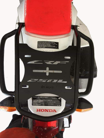 Honda CRF250L  Luggage Rack Top Case Carrier 2013 2019