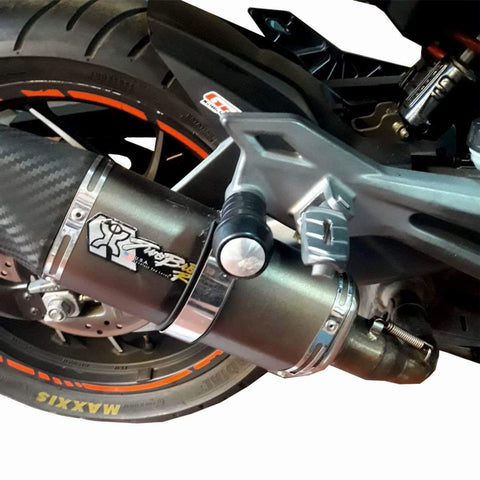 Bajaj Dominar Slider Crash bar for Exhaust 2017 2018 Model B