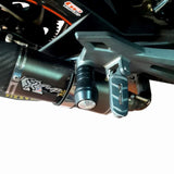 Bajaj Dominar Slider Crash bar for Exhaust 2017 2020 Model B