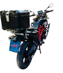 Aluminum 40Lt Top Case + Rack for BMW F700 GS Motorrad Motorcycle