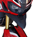 Honda Africa Twin CRF1000L motorcycle front fender beak extension