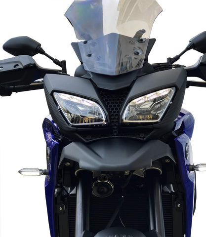 Yamaha MT-09 Tracer 900 front fender beak extension compatible up to 2018